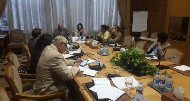 الاجتماع التمهيدي للتقرير العربي حول
