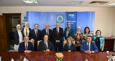 توقيع مذكرة تعاون مشتركة بين المجلس العربى للمياه والمعهد الدولى لإدارة المياه