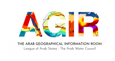 "AWC demonstrated some of the maps generated from its ""Arab Geographical Information Room (AGIR)"""